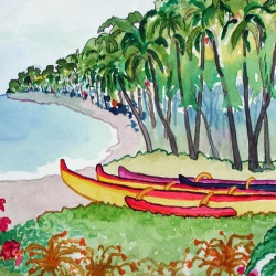 HAWAII WATERCOLORS 2003